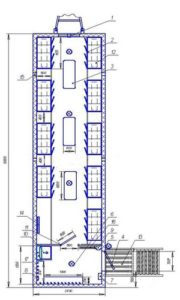 Вагон-дом с сушильными шкафами